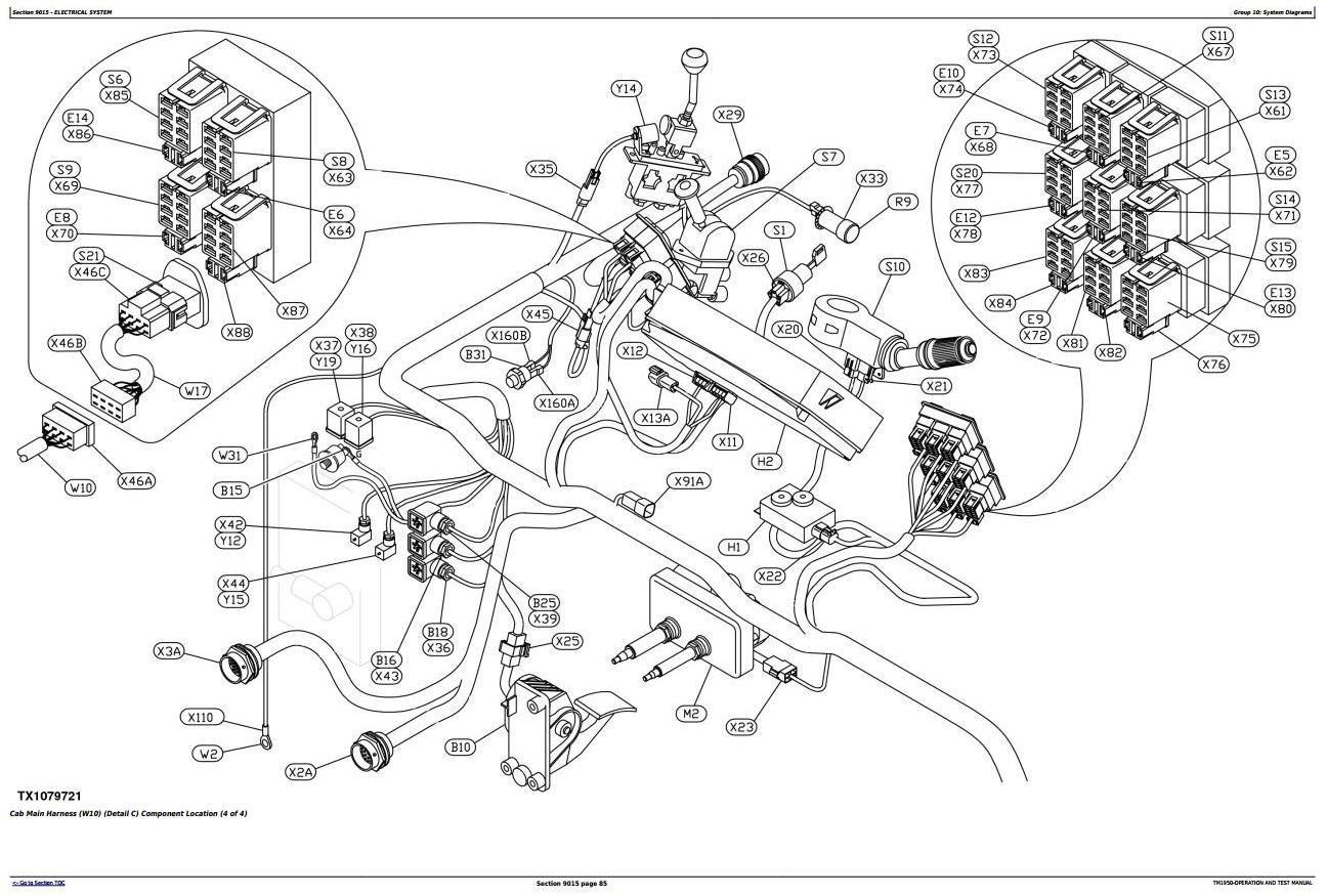 John Deere 250D, 300D Articulated Dump Truck (SN.200366