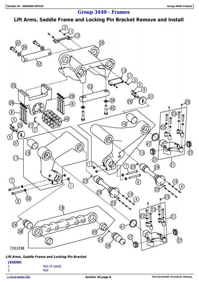 B Wiring Diagram John Deere Grader. John Deere 325 Wiring