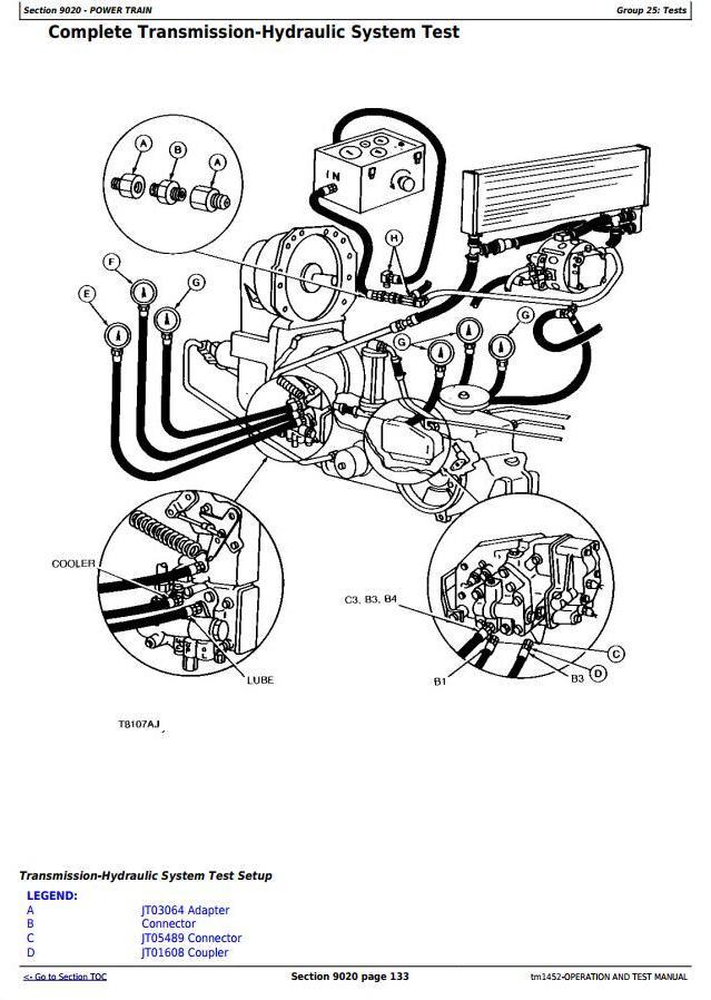 John Deere 670B, 672B, 770B, 770BH, 772B, 772BH Motor