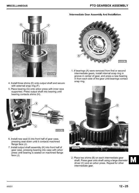 John Deere 4200, 4300, 4400 Compact Utility Tractors