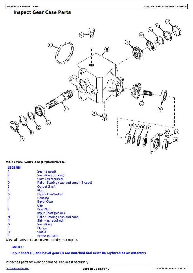 John Deere 916, 926 and 936 Rotary Mower-Conditioners