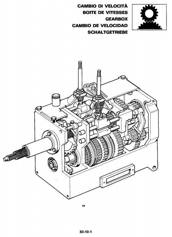 John Deere 1445F, 1745F, 1845F, 2345F Tractors Technical
