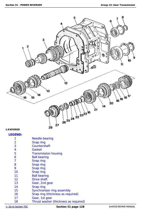John Deere Tractors 6010, 6110, 6210, 6310, 6410, 6510