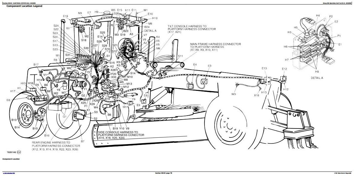 JOHN DEERE 770CH MOTOR GRADER REPAIR MANUAL - Auto ...