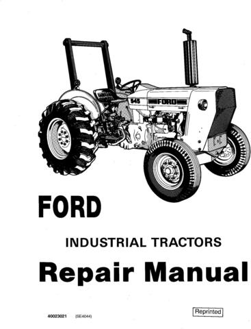 Ford 230A, 231, 335, 340A/B, 420, 445, 455A, 531, 532, 535