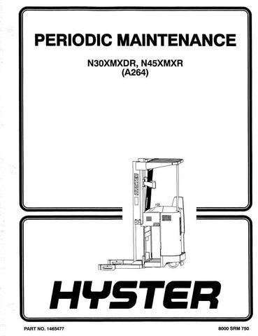 Hyster N30XMXDR, N45XMXR Electric ForkLift Truck A264