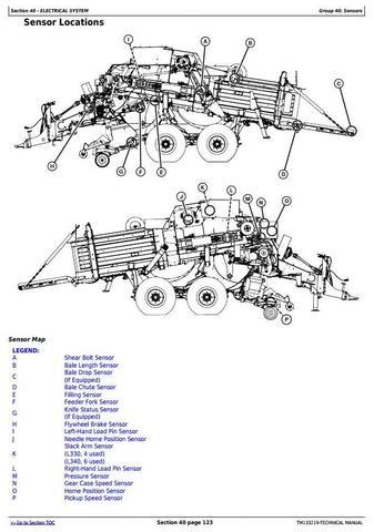John Deere L330, L330C, L340, L340C Hay&forage Large