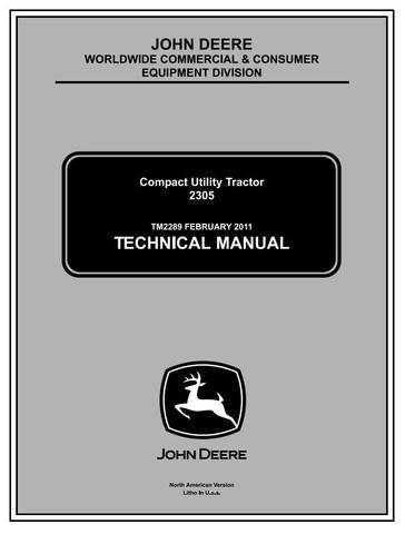 John Deere 2305 Compact Utility Tractors (SN. 120001