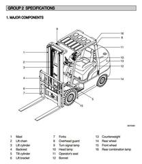 Hyundai Forklift Truck Service Maintenance Repair