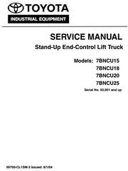 Toyota Electric Reach Truck Service Maintenance Repair