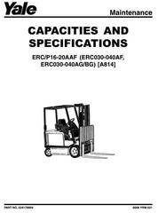 Yale Electric Forklift Trucks Service Maintenance, Repair