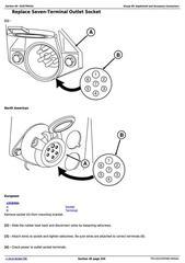 John Deere 8000 Series Tractors Diagnostic, Repair
