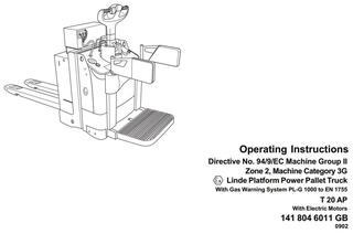 Linde Forklift Truck Service, Maintenance, Operating