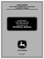 John Deere Lawn and Garden Tractors Diagnostic, Repair