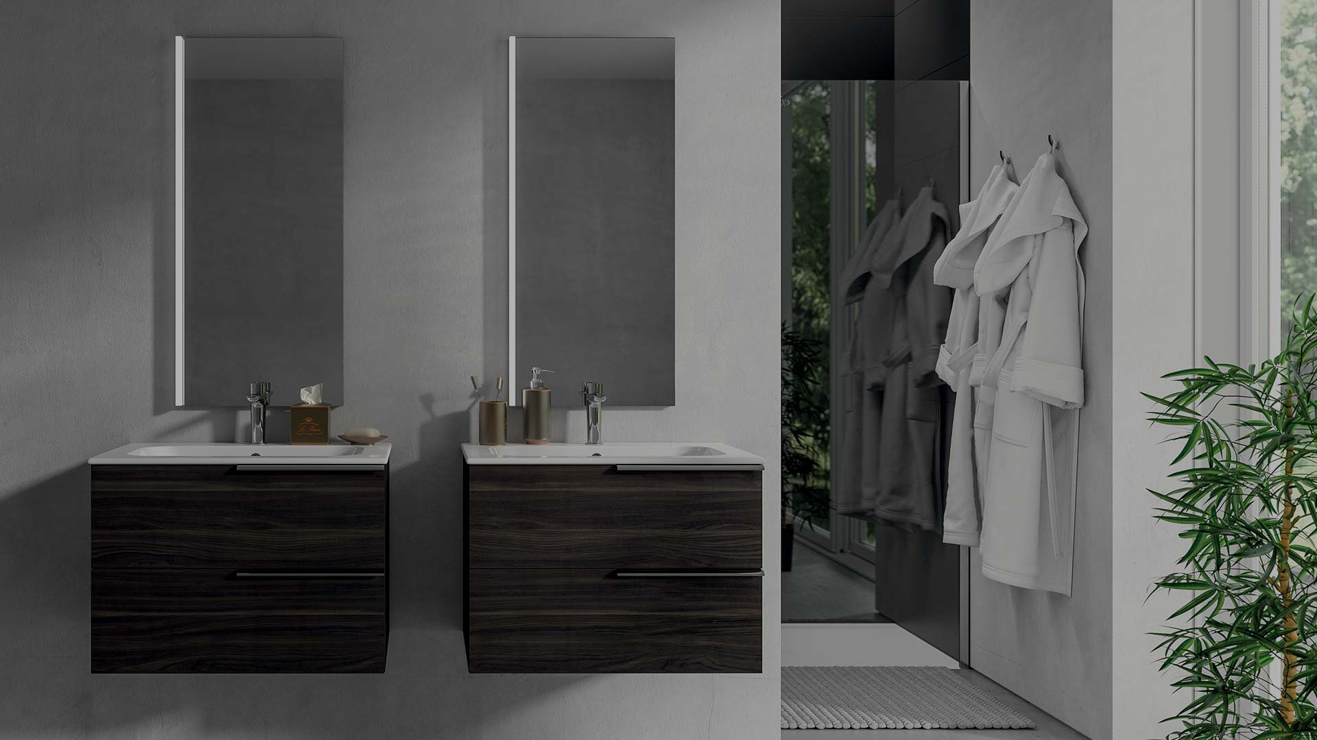 5 soluzioni per arredare un bagno piccolo