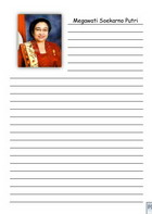 notes megawati