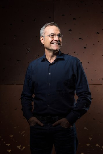 Amazon CMO Neil Lindsay poses for a portrait at the Amazon Bigfoot office on Tuesday, October 11, 2016 in Seattle Wash. Lindsay has overseen the release of targeted TV commercials and innovative new digital approaches to harness the power of social.(Daniel Berman/AP Images for AdAge Magazine)