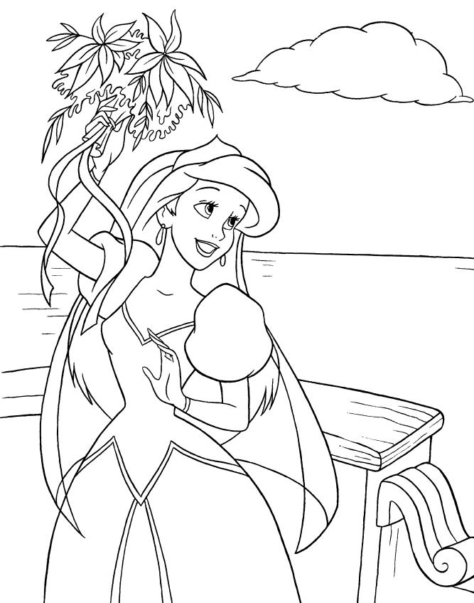 Coloriage Ariel Et Eric