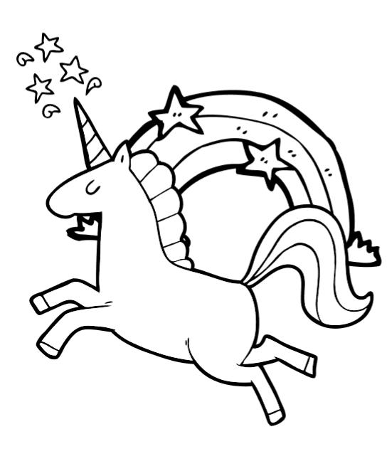 Coloriage Lol Licorne