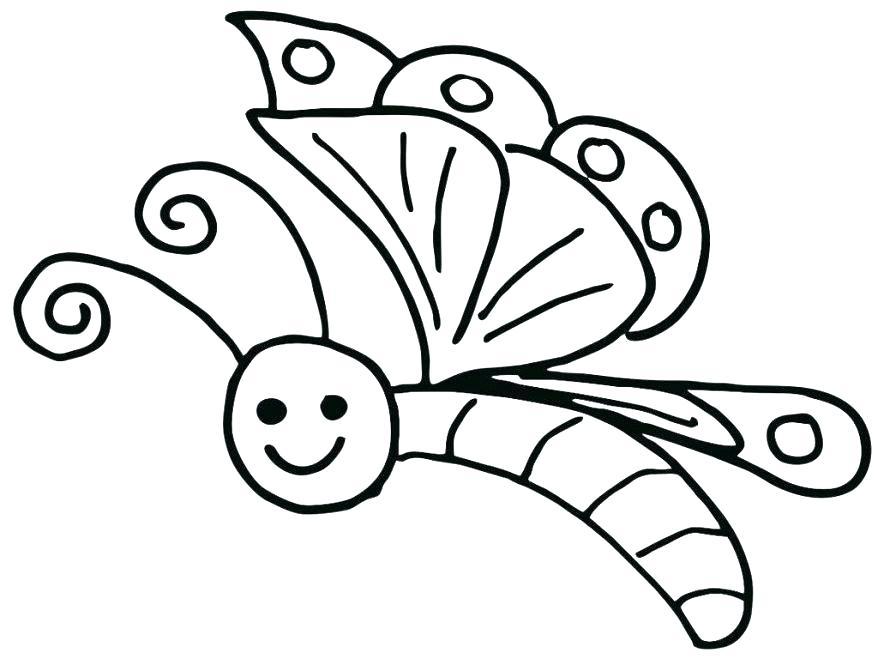 Coloriage Papillon À Imprimer Gratuit