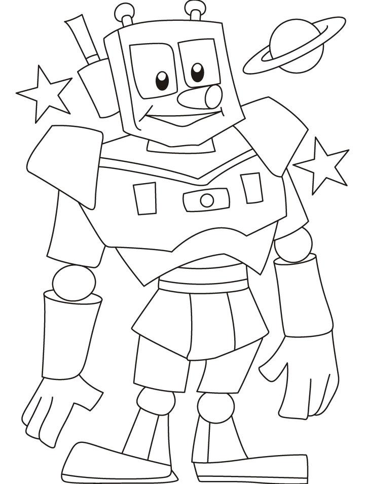 Image Robot Dessin
