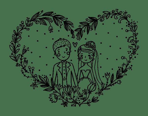 Jeux Coloriage Mariage