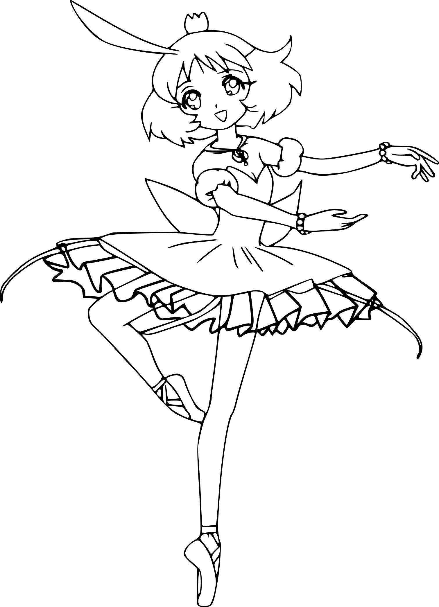 Dessin De Danseuse Classique