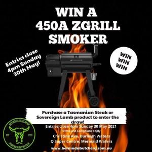 Win a smoker Bermuda Butchery