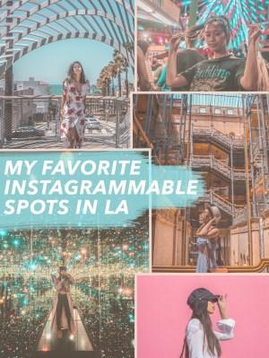 My Favorite Instagrammable Spots in LA