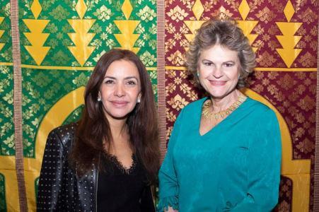 Claudia Meireles e Bertha Pellegrino