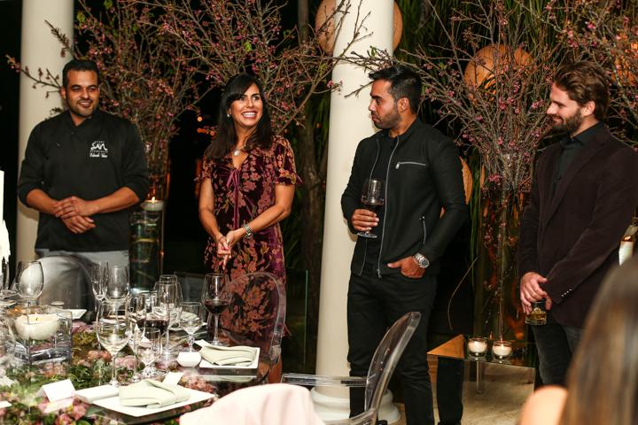 Chef Edu Viana, Daniely Brito,Thiago Miranda e Valdir Piran Jr