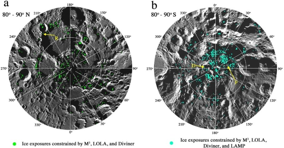 Gelo na Lua