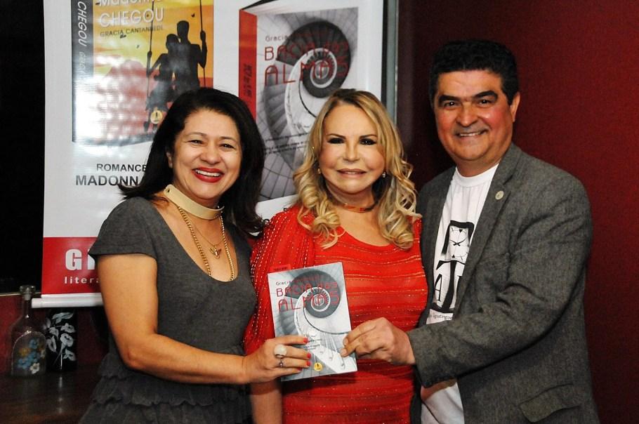 Maria Felix, Gracia Cantanhede e Gustavo Dourado