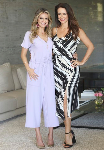 Milena Gogoy e Karina Curi