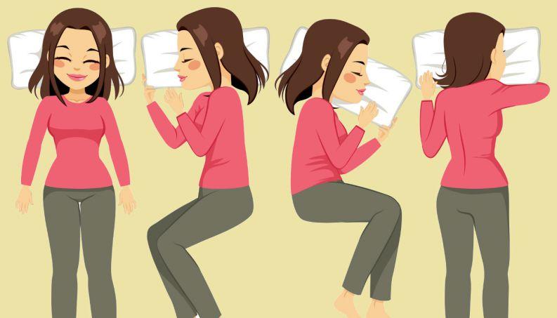 Posição para dormir