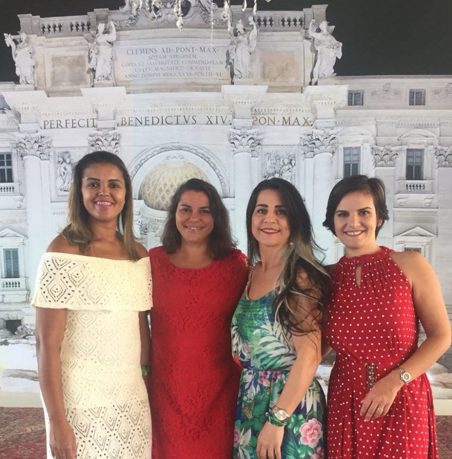 Tathny Kefakas, Danielle Antoni, Rose Morais e Maria Helena Sother