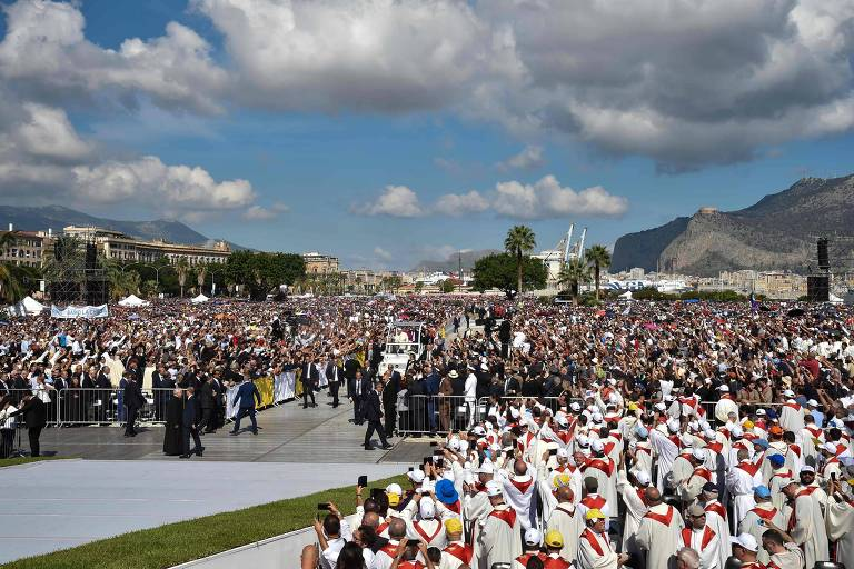 Papa Francisco em Palermo
