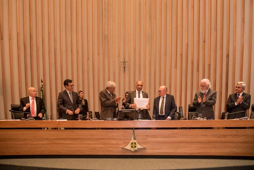 Cidadão Honorário de Brasília  Vicente Leal de Araújo