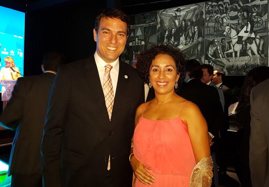 Guilherme Cunha e Juliana Kirmese