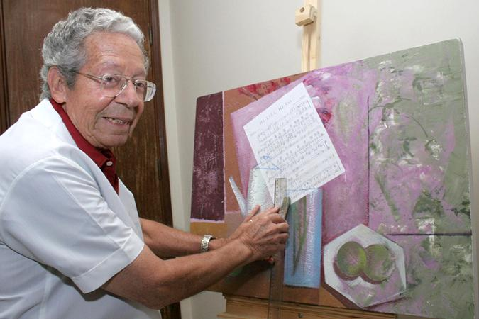 Medico e pintor Oscar Moren