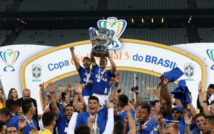 Cruzeiro campeão da Copa do Brasil 2018