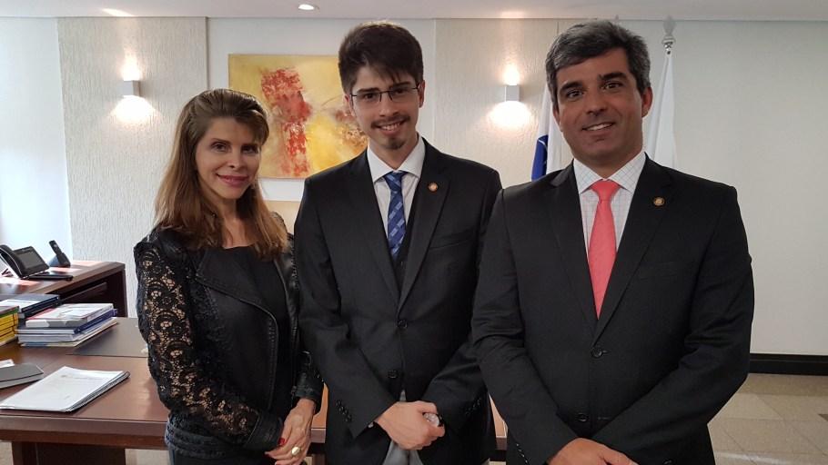 Bernadete, Gilbert Di Angellis e Juliano Costa Couto