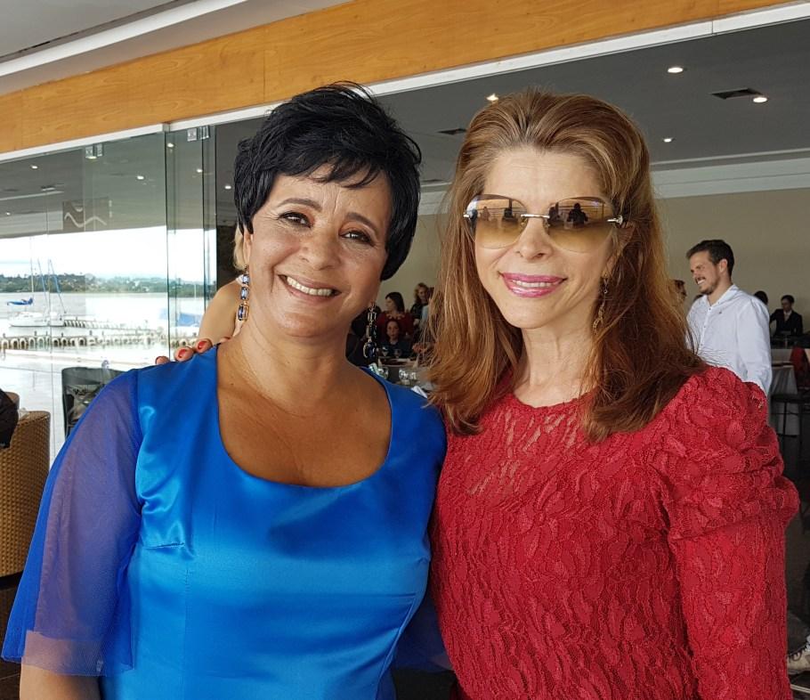 Márcia Rollemberg e Bernadete Alves