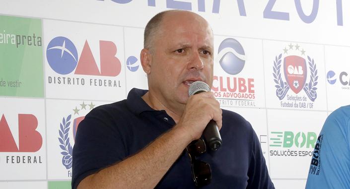 Marcelo Cunha, presidente do Clube