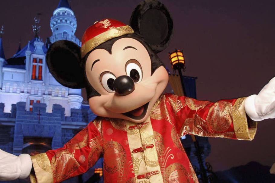 Mickei Mouse 90 Anos