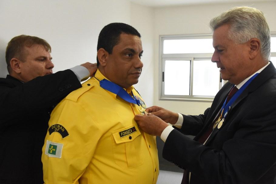 Medalha Mérito Segurança Pública DF