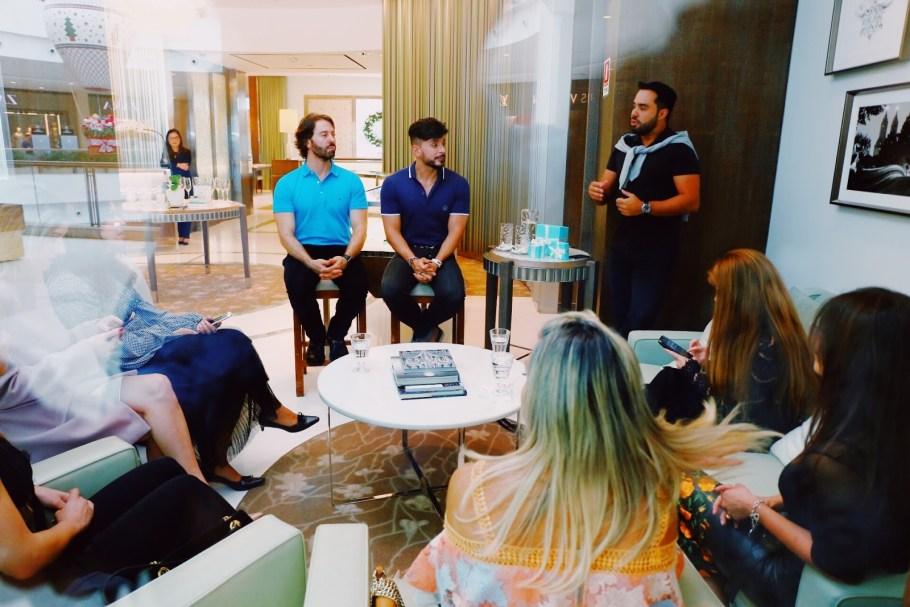 Tiffany & Co promove talk show sobre saúde