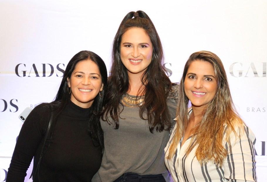 Carina Azevedo, Leila Diniz e Rosa Cavalcante