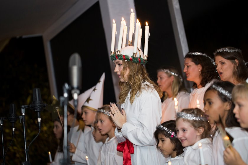 Embaixada da Suécia celebra Santa Lúcia