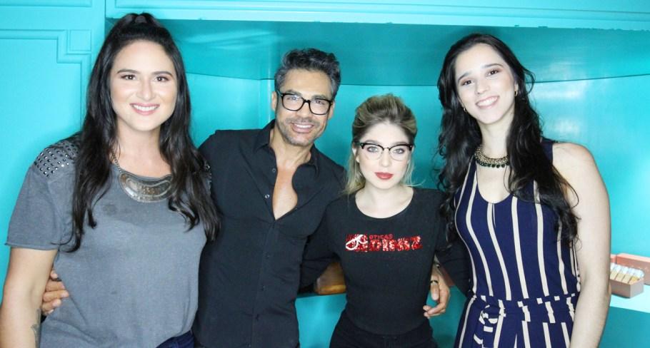 Leila Diniz, Ricardo Maia, Janaina Rocha e Mariana Carvalho